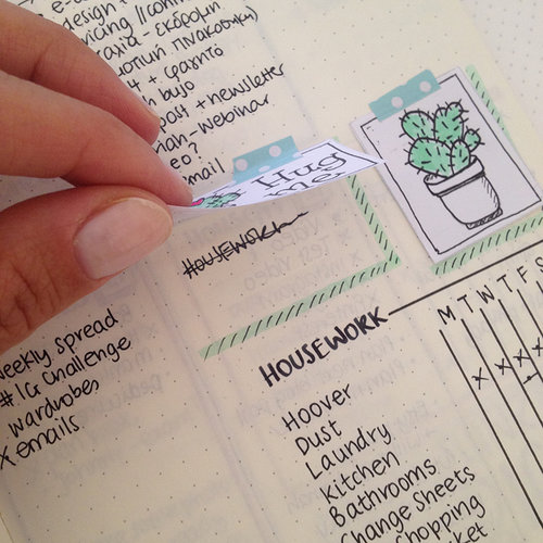 how to deal with mistakes in your bullet journal 2