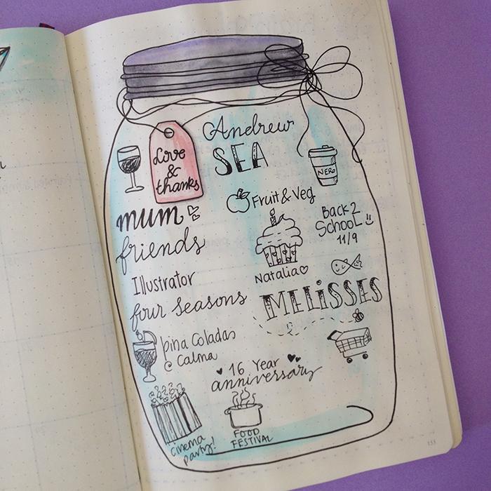 Gratitude Jar - September Set Up in my Bullet Journal.jpg