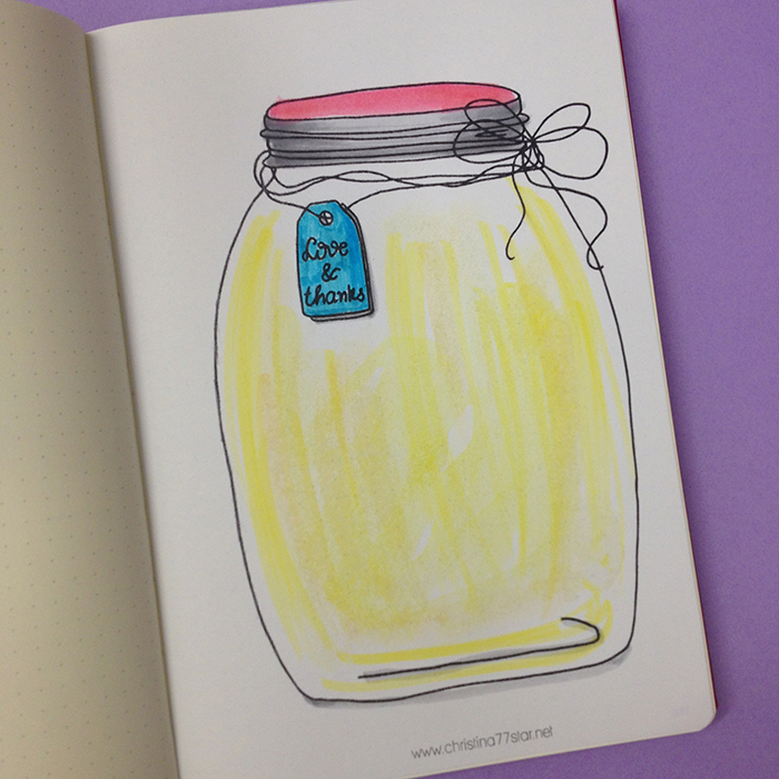 Gratitude Jar - October Set Up in my Bullet Journal.jpg