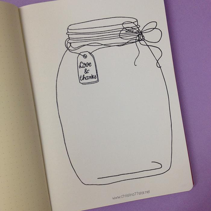 Gratitude Jar Printable - October Set Up in my Bullet Journal.jpg