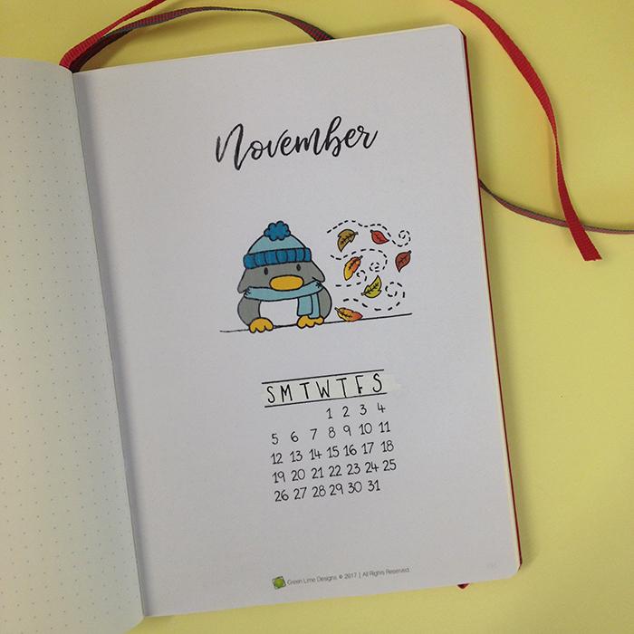 November Front Page - Bullet Journal.jpg