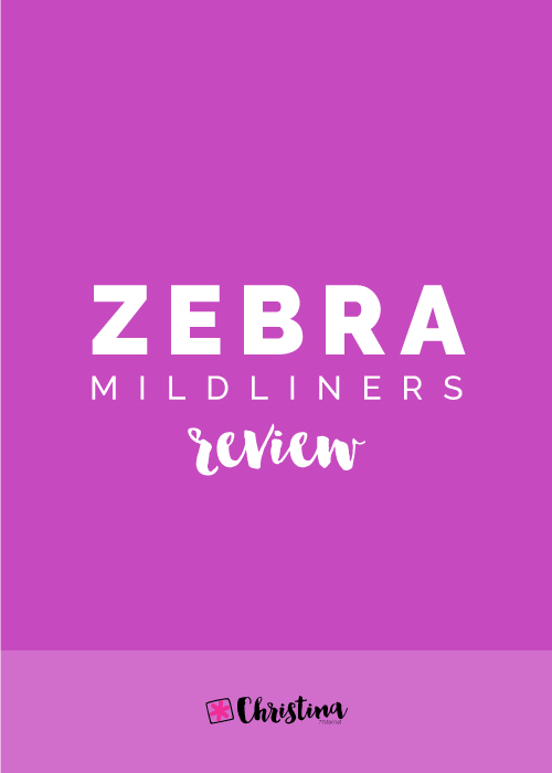 Zebra Mildliners Review