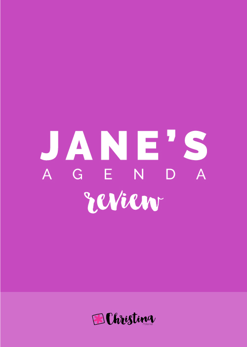 Jane's Agenda Review