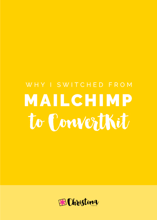 Why I switched from Mailchimp to ConvertKit