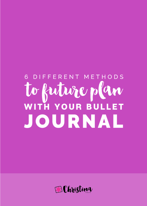 6 Different Types Of Artificial Nails You Can Try: 6 Different Ways To Future Plan With Your Bullet Journal