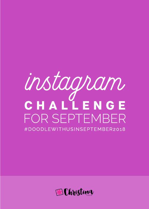Instagram Challenge: #doodlewithusinseptember2018