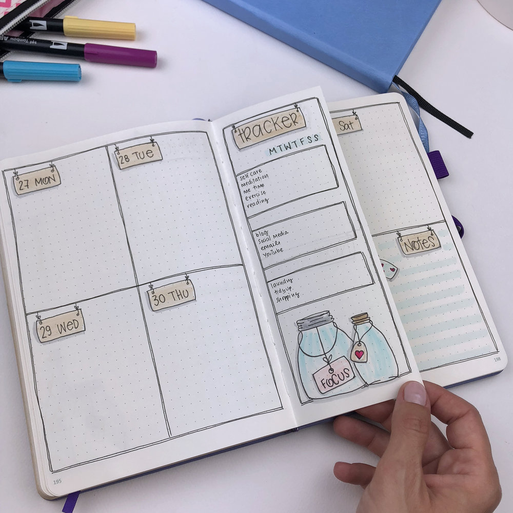 Plan With Me: My September September Setup in my Bullet Journal