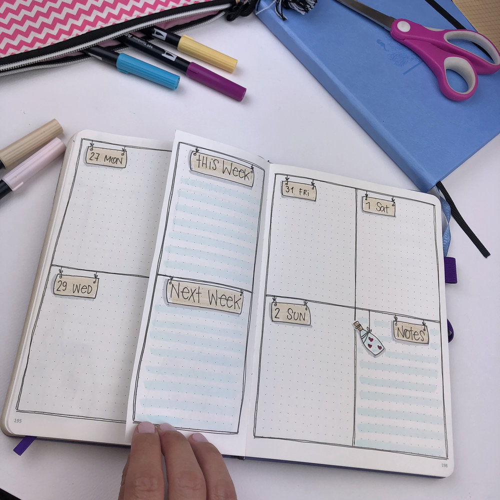 Plan With Me: My September Setup in my Bullet Journal