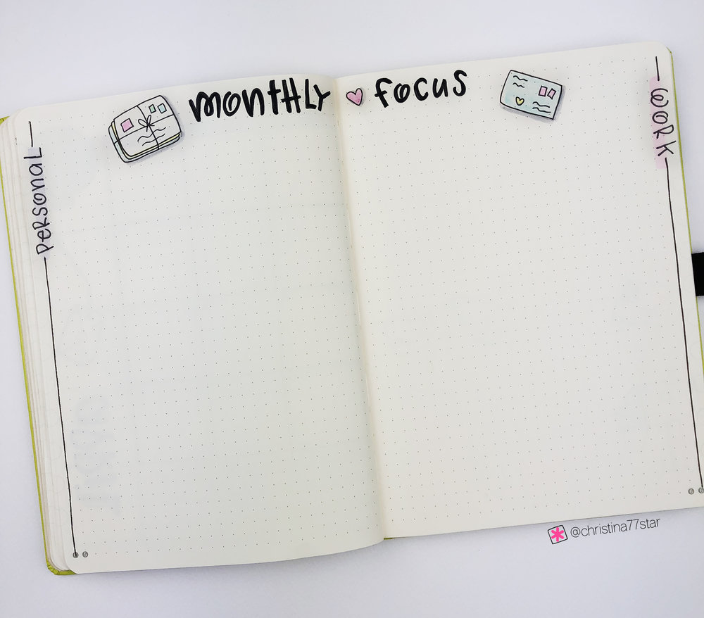Plan With Me - Bullet Journal Setup - April 2019