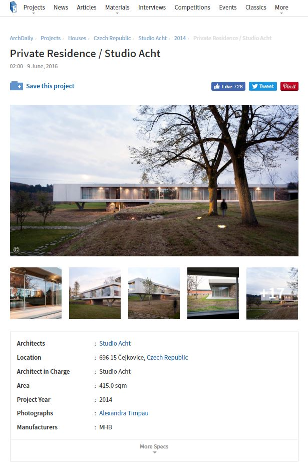 ArchDaily - PRIVATE RESIDENCE