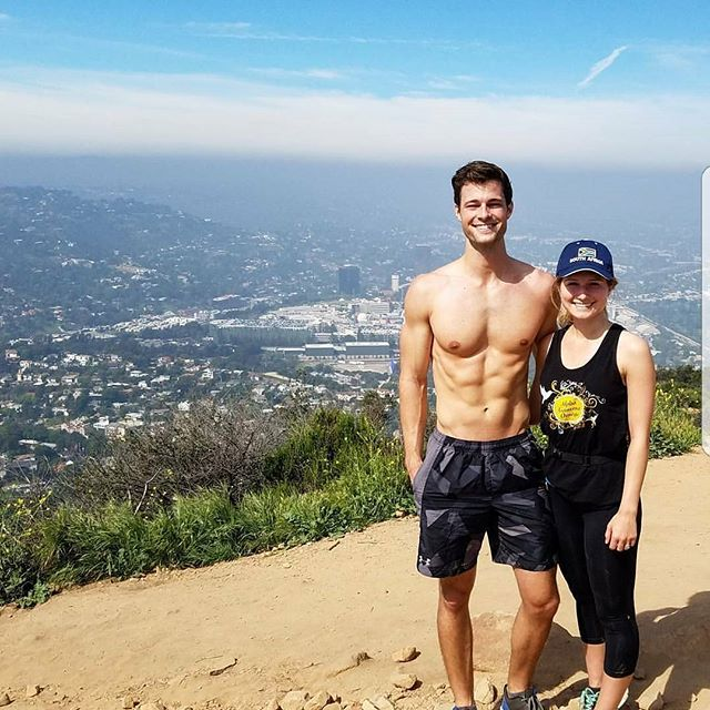 Matt and I after a Hike in Los Angeles.