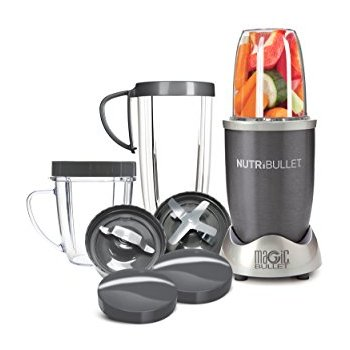 Nutribullet 12-Piece High Speed Blender  - Looking for a cheaper, more personal sized blender? we use this blender for smoothies on the go! single and double serving options enable us to continue our healthy lifestyles, even with our busy lives!