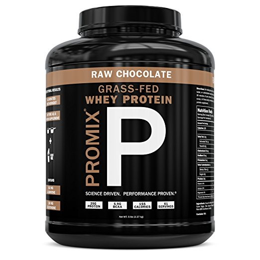Promix Grass-Fed Whey Protein - An excellent source of protein derived from whey. healthy, pure, trusted.