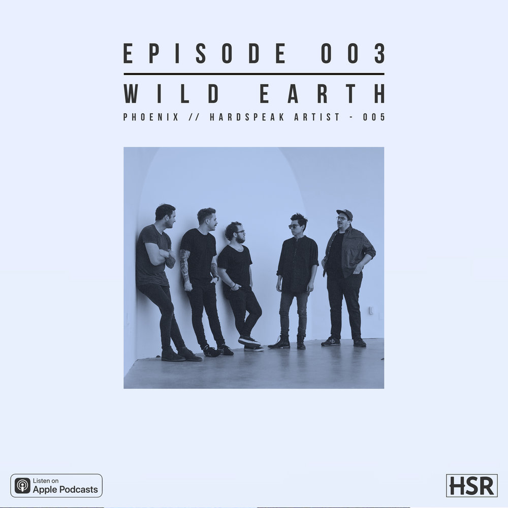 wild earth - is the fifth artist of Hardspeak Records. In this episode, we talk with them about the new ways of recording and releasing music in a changing industry.Episode 003 is sponsored by Hardspeak Playlist 001