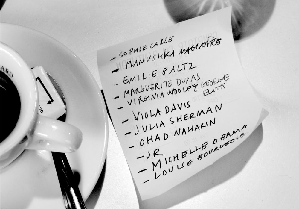 Philo Cohen's quick list of influences