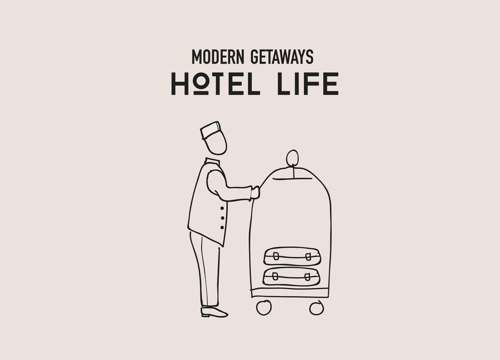 illustration by Nil for Modern Getaways