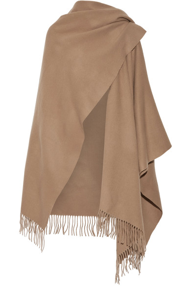 ACNE STUDIOS - Fringed wool wrap