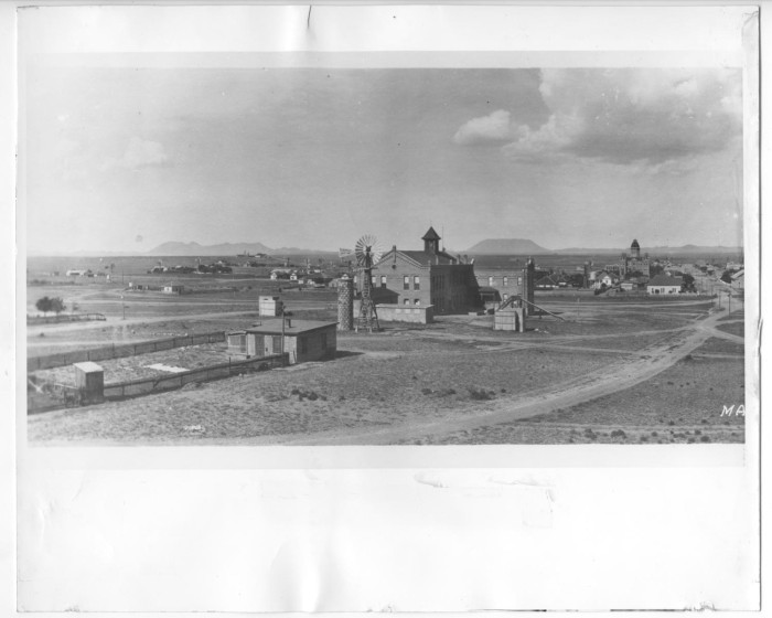Marfa in the early 1900s. Via Marfa Public Library.