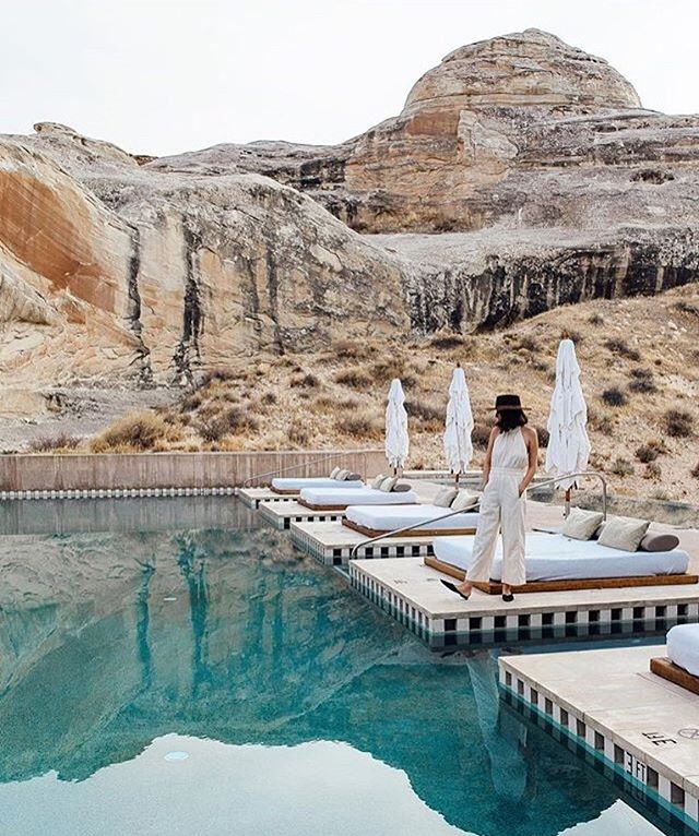 it's easy to see why this is one of the hottest hotels on the planet right now 🌎 #moderngetaways | 📷 @here.mag