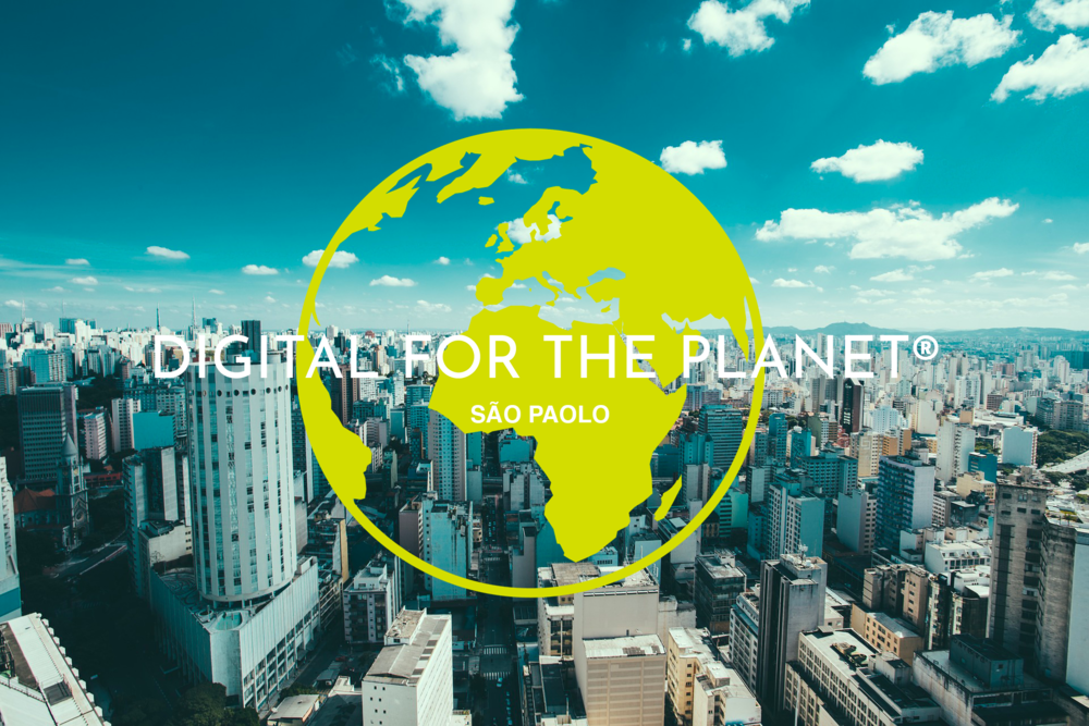 Digital For The Planet federates an ecological digital community and cleantech startups in 14 cities worldwide including Sao Paolo, Brazil.