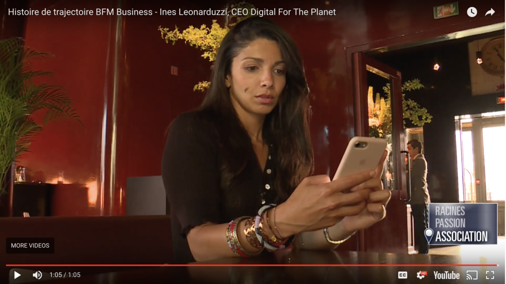 Reportage DIGITAL FOR THE PLANET dans  BFM Business  — Click  here  to read more.
