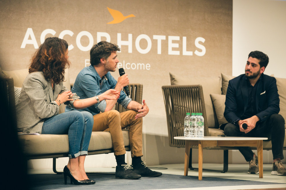 Anthony Alfont , COO at Digital For The Planet, hosted CDOs of  LVMH Jewelry  and  Nelly Rodi  at our conference The Altruist Society in partnership with  AccorHotels .