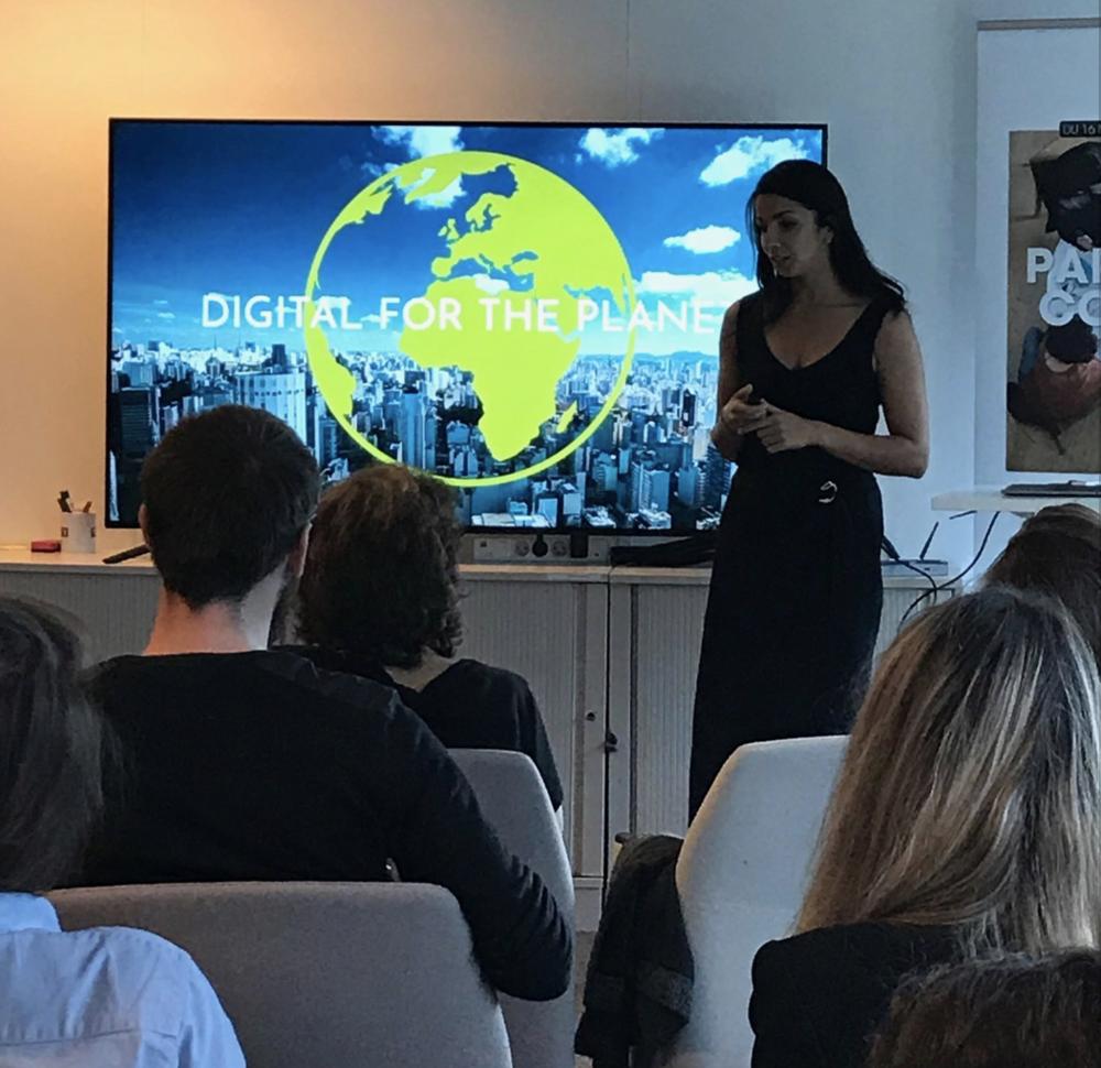 ines leonarduzzi TF1 - digital for the planet