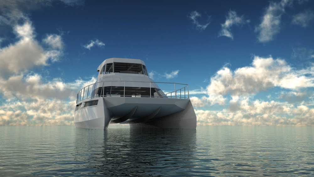 SuperTech Yachts | Leeuwin 52 Power Catamaran | 2017