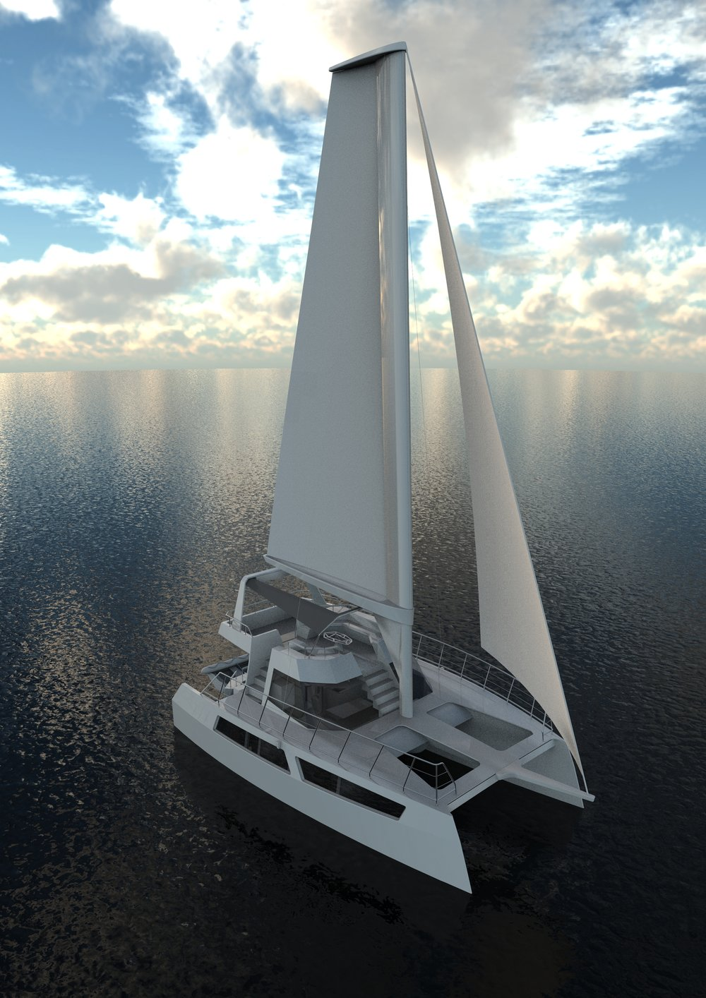 SAPPHIRE 40 Sailing Catamaran