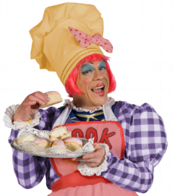 James Holmes as Sarah the Cook