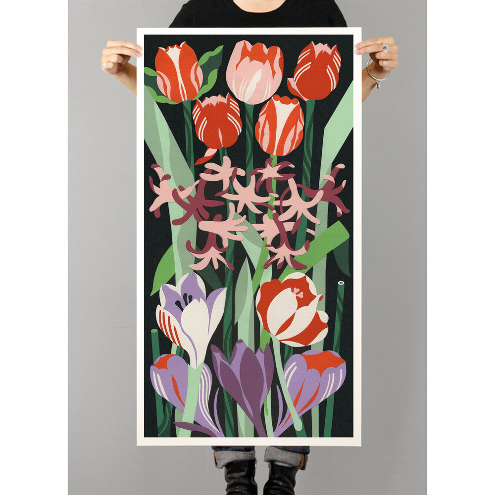 Spring  Giclee print (A0 size)