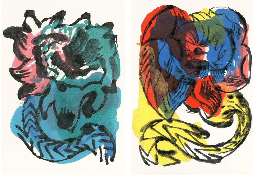 SCOUT  &  REMI  Giclee prints