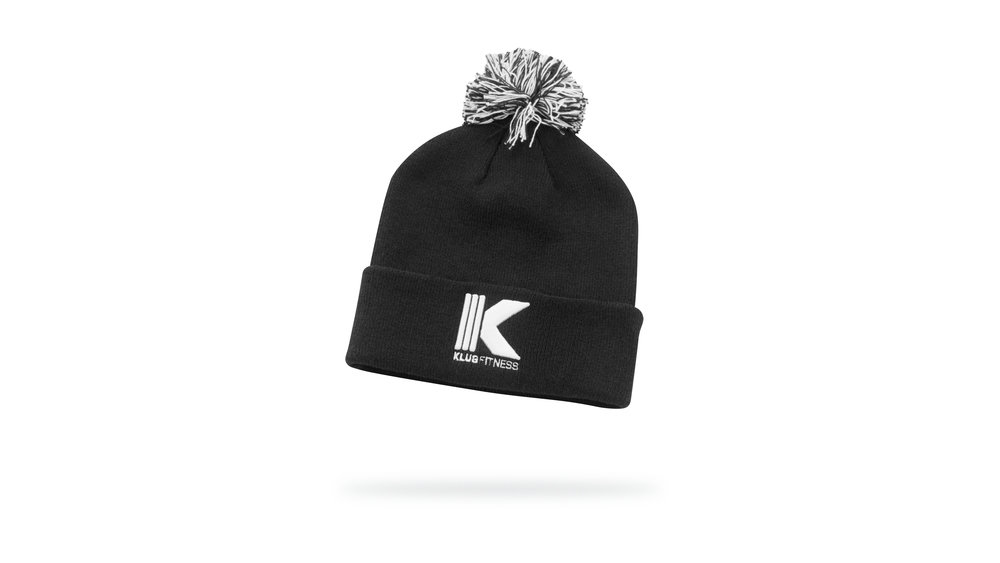 SoftKnit Cotton Winter Cap w/Flip Cuff & 3D embroidered logo