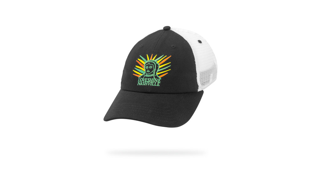 Featured Hat: STYLE XXXII - Soft Mesh Trucker Cap.