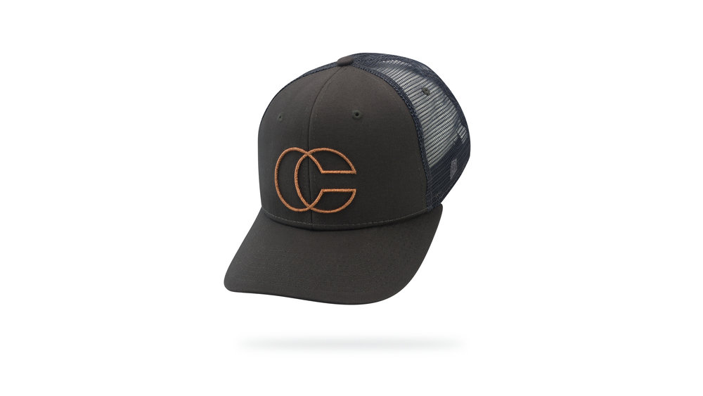 Featured hat: STYLE IV - Vintage Trucker w/ Versa Visor & 3D Embroidery