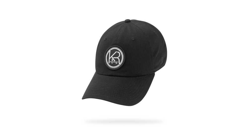 Featured Hat: STYLE I - Classic Relaxed Twill Cap w/ Woven Label Patch Appliqué
