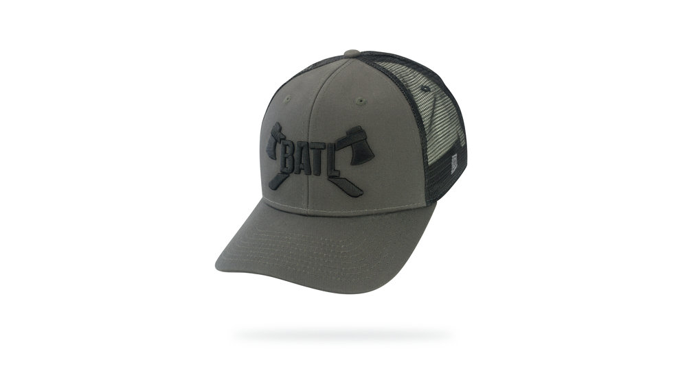 Featured Hat: STYLE IV - Vintage Trucker Cap w/ Curved Visor & 3D Embroidery