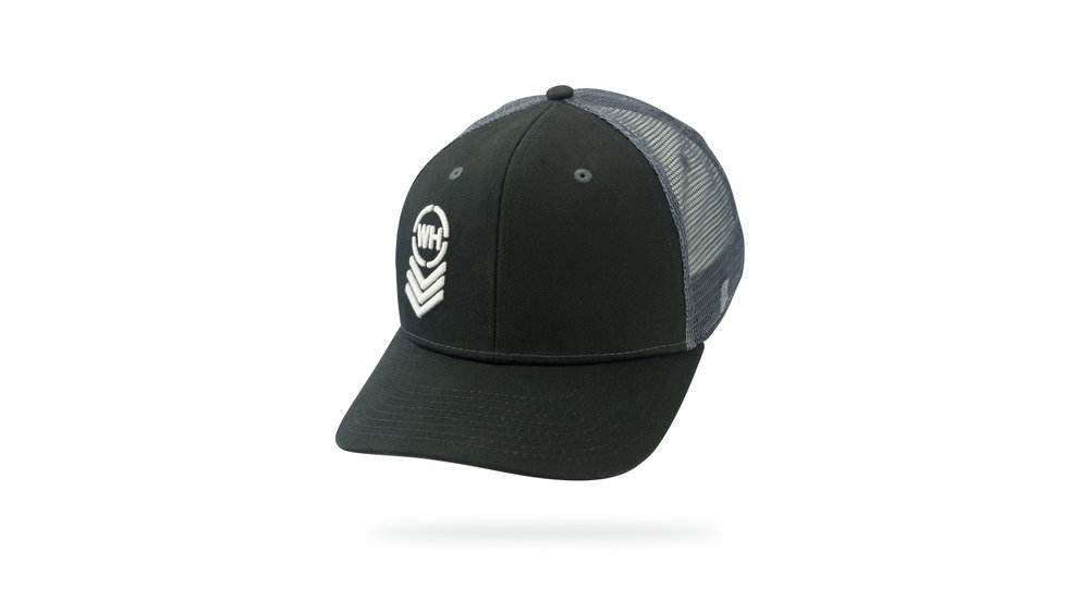 Featured Hat: Style IV - Vintage Trucker w/ 3D Embroidery