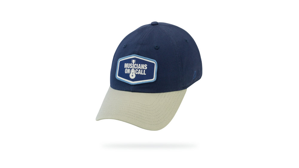 Featured Hat: STYLE I - Relaxed Twill Cap w/ Curved Visor & Woven Label Patch
