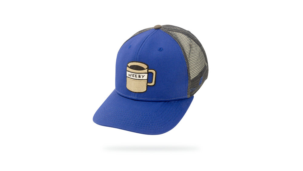 Featured Hat: STYLE IV - Vintage Trucker Cap w/ Versa Visor & 3D Embroidery