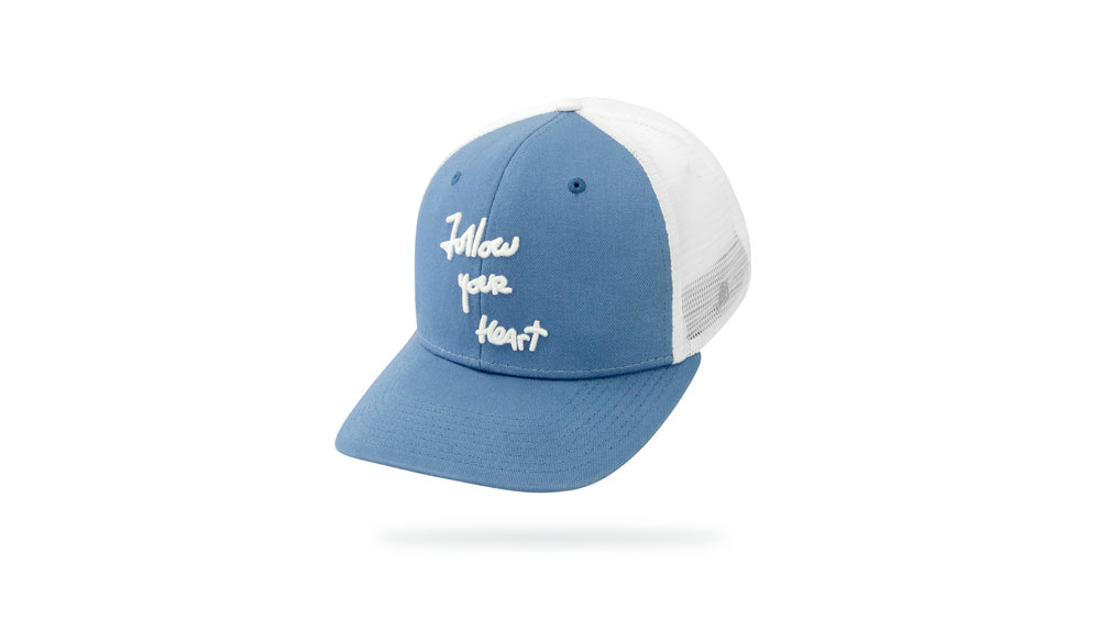 Featured Hat: STYLE IV - Vintage Trucker Hat w/ Versa Visor & 3D Embroidery