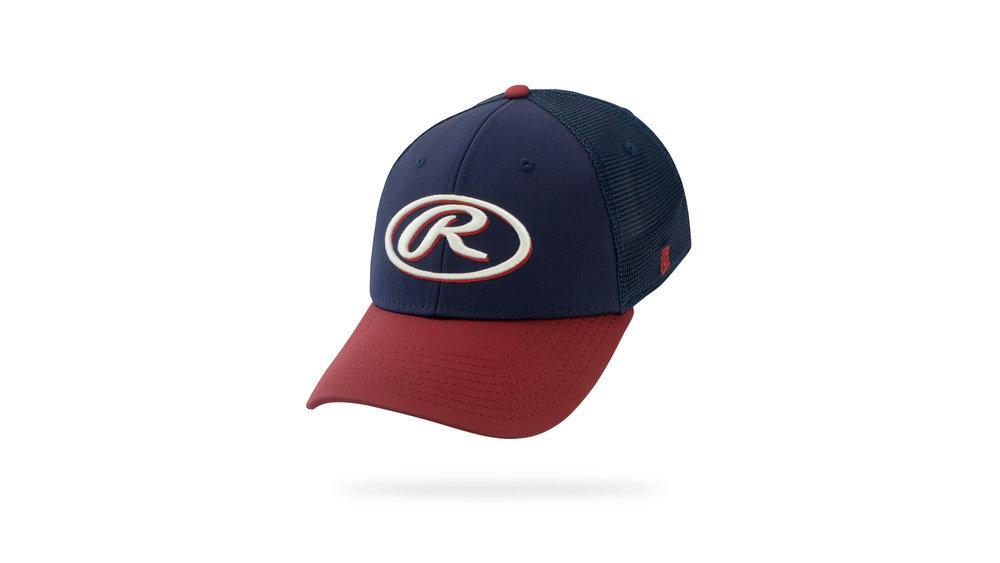 Featured Hat: STYLE III - Performance Trucker Cap w/ Curved Visor & 3D Embroidery