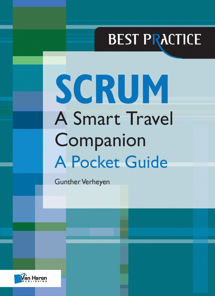 Scrum - A Smart Travel Companion - A Pocket Guide - Gunther Verheyen     This is a concise yet complete reference about Scrum. It is great to carry with me everywhere and refer to whenever I need. It is definitely a book to have if you are working with scrum and or would like to know more. Call me a nerd, but I did take it with me on my recent long haul travels and did a little studying when I got bored on one of those never ending flights. When one calls themselves a travel companion, you've got to take them with you! ;)