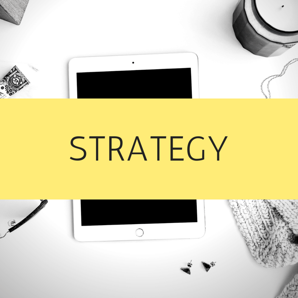 Strategy - To make the most out of your marketing, you need a strategy in place. I can develop specific or all inclusive strategies to grow your business. Whether it is for the everyday or a specific campaign.