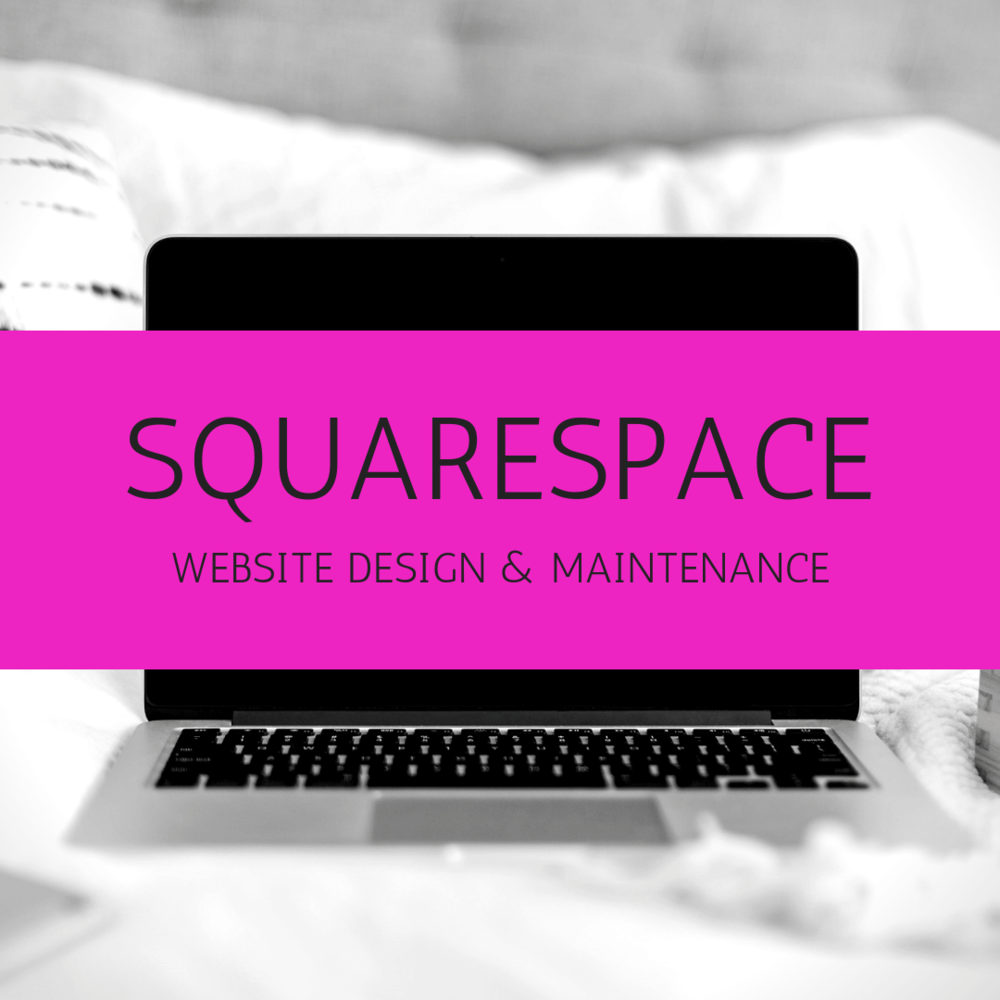 Squarespace - A website needs to look good but work too. I can help maintain your Squarespace website, build a new one, or carry out an audit to make sure you're making the most of your site.