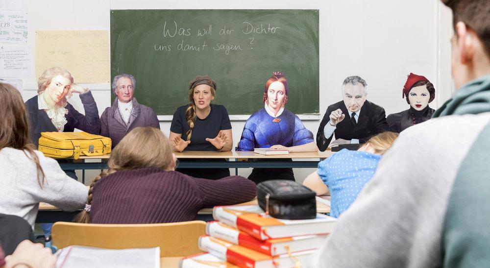 Dichter und Denker in der Schule