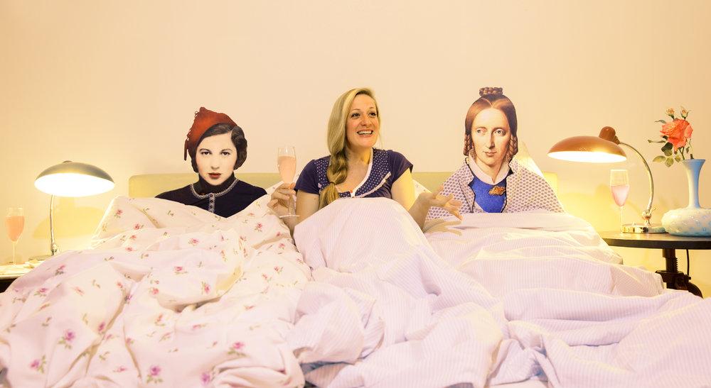 Im Bett mit Kaléko und Droste-Hülshoff