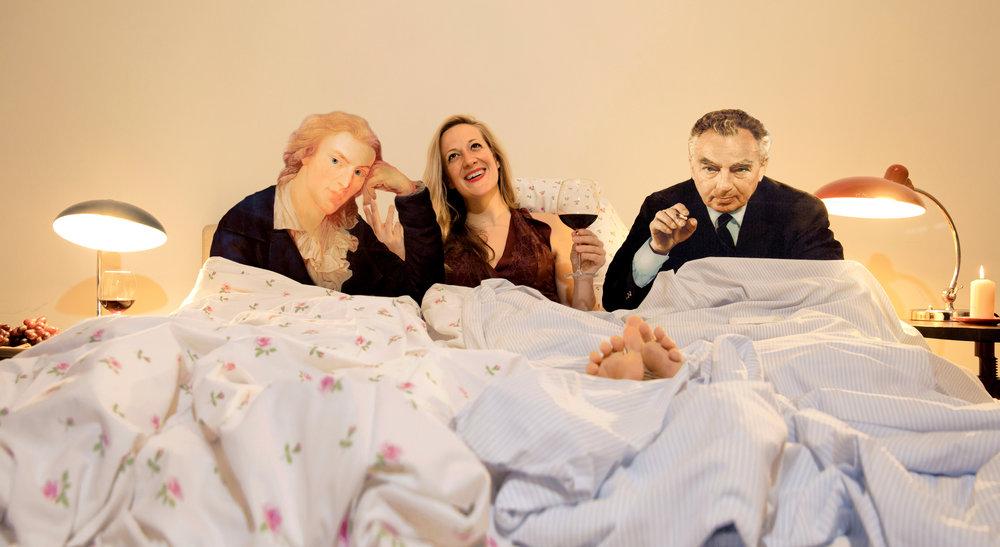 Im Bett mit Schiller und Kästner