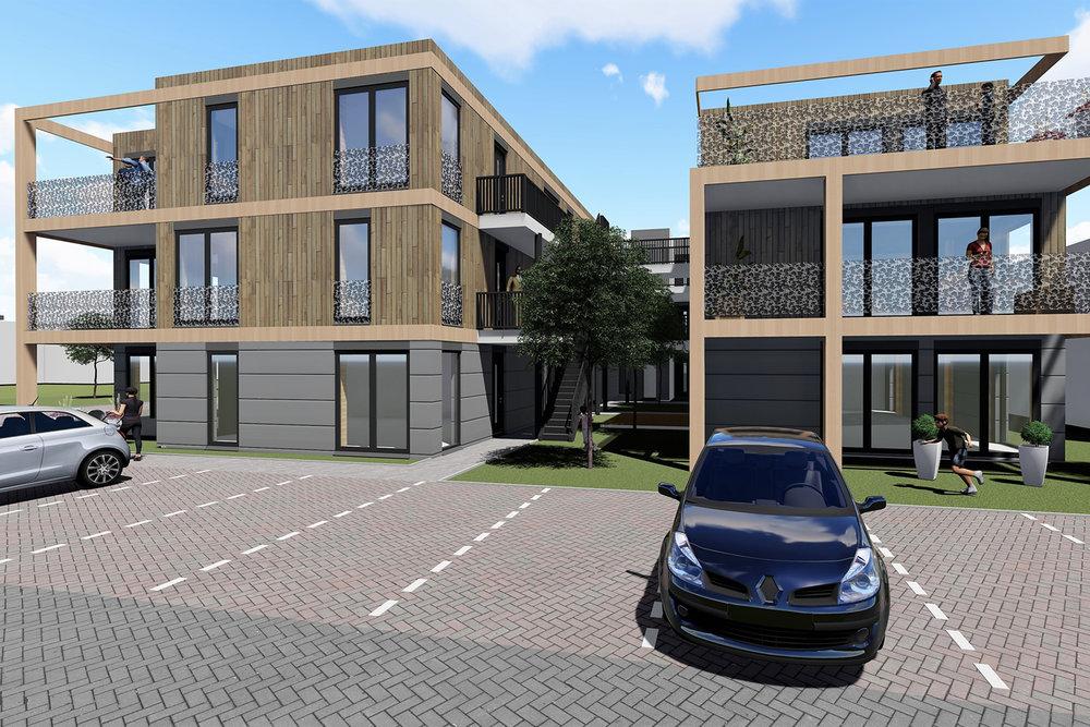 energie neutrale appartementen -
