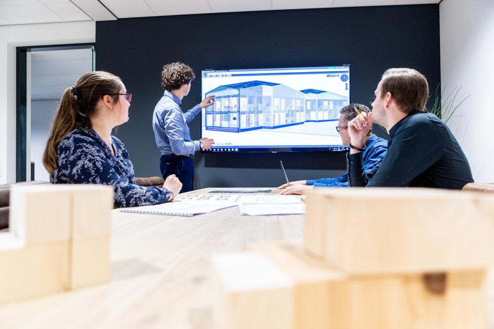 3D BIM ontwerpen bouw